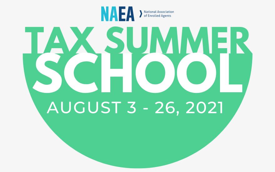 Tax School Begins August 3!
